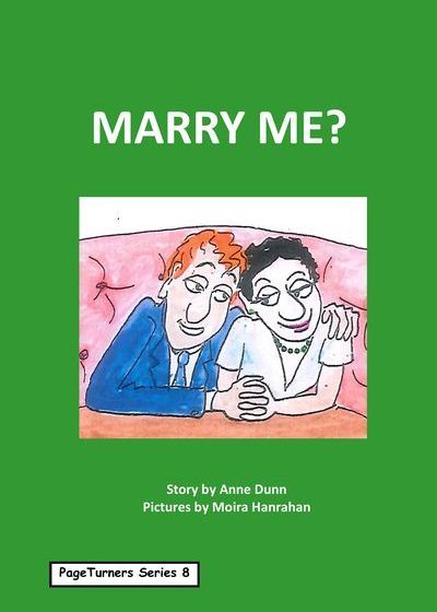 Marry Me, cover illustration by Moira Hanrahan, PageTurners