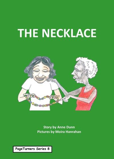The Necklace, cover illustration by Moira Hanrahan, PageTurners