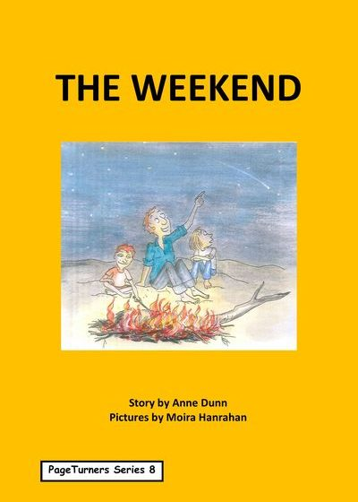 The Weekend, cover illustration by Moira Hanrahan, PageTurners