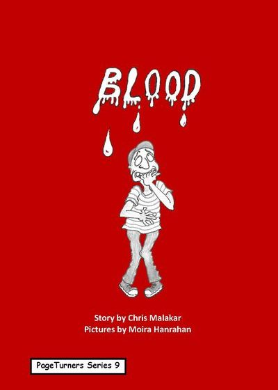 Blood, cover illustration by Moira Hanrahan, PageTurners