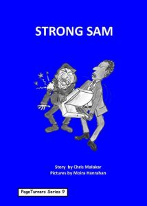 Strong Sam, cover illustration by Moira Hanrahan, PageTurners